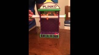 3D Printed Plinko Candy Game