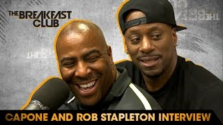 Capone and Rob Stapleton Interview With The Breakfast Club (10-4-16)