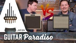 Guitar Paradiso – Roland Blues Cube Hot vs Fender Blues Junior