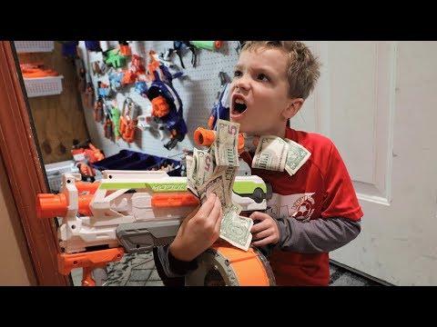 Nerf War:  $500 Gun Pickup