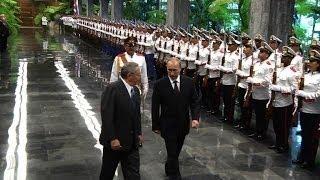Putin in Cuba to rekindle Latin America ties
