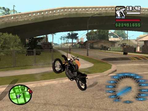Zerinho De XT 660 GTA San Andreas