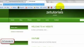 Dreamweaver Tutorial CS4/CS3 - Part 1 - basic Website