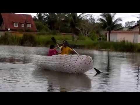Barco de Garrafas Pet.