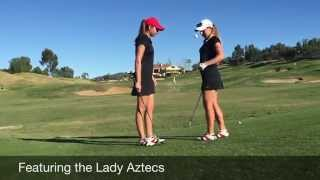 SDSU Women's Golf Team Trick Shot Video