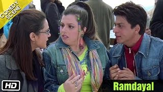 Ramdayal  - Comedy Scene - Kal Ho Naa Ho - Shahrukh Khan, Saif Ali Khan & Preity Zinta
