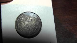 Silver German States Coin (Dated 1686)