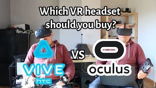 HTC Vive vs Oculus Rift: Which is Best?