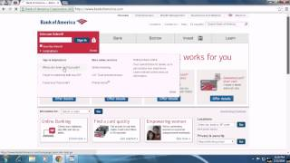 Bank of America Account Recovery - Recover Bank of America Password   BankofAmerica.com