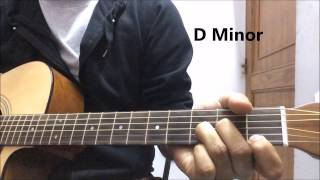 Aadat Guitar Lesson (Chords Lesson - Hindi)