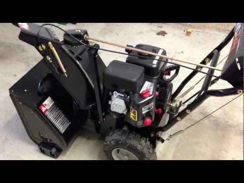 Sno-Tek 24 Arien's Snowblower - Won't Start - Carburetor