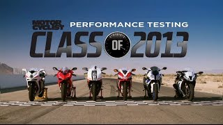 Class of 2013 Superbike Shootout | On Two Wheels