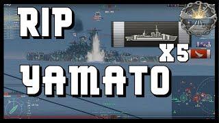 Amagi vs. Yamato - cant win them all ... World of Warships