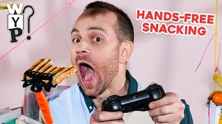 Hands-Free Snacking   What's Your Problem?