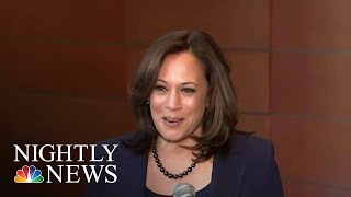 Senator Kamala Harris Announces Presidential Run | NBC Nightly News