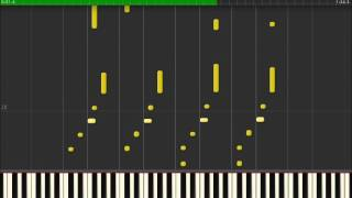 """Barney - """"I Love You (All Versions)"""" - Synthesia Piano Tutorial"""