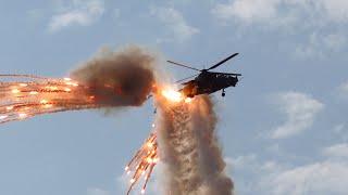 AAD 2016 - SAAF Rooivalk Helicopter Demonstration