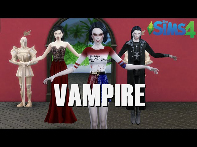 VAMPIRE MODS | The Sims 4 wampir