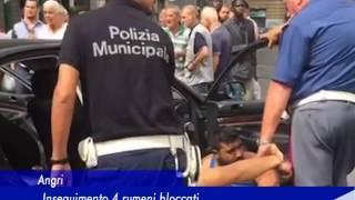 Angri: Inseguimento, 4 rumeni bloccati - 18 Agosto 2016
