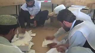 Vote-counting in Kandahar