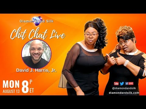 Xxx Mp4 Diamond And Silk Chit Chat Live August 13 2018 Guest David J Harris Jr 3gp Sex