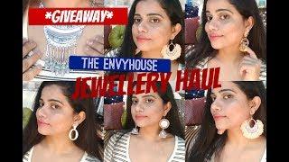 JEWELLERY HAUL + *GIVEAWAY* |The EnvyHouse|TheLifeSheLoved| Sana K