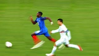 TOP 15 FASTEST PLAYERS 2017-2018 - Amazing Speed