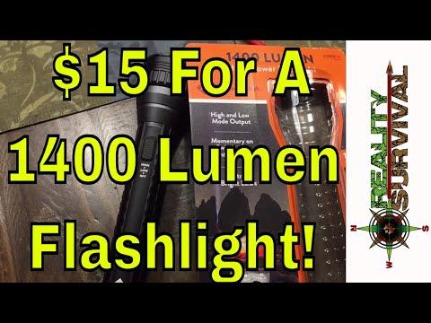 Xxx Mp4 Great Deal Alert 1400 Lumen LED Flashlight 3gp Sex