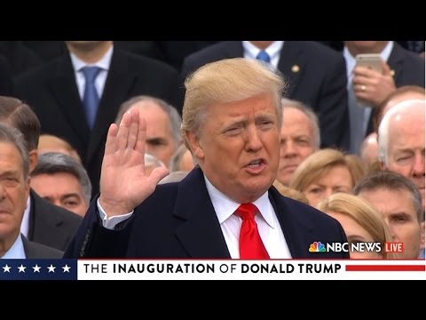watch Donald Trump becomes the 45th President of the United States
