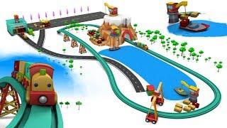Chu Chu Train - Toy trains - Trains for children - Train cartoon - Cartoon for kids - Toy Factory