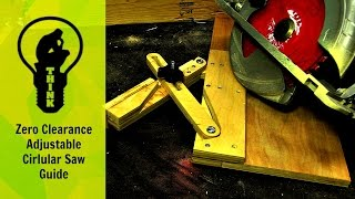 How to Make an Adjustable Circular Saw Guide