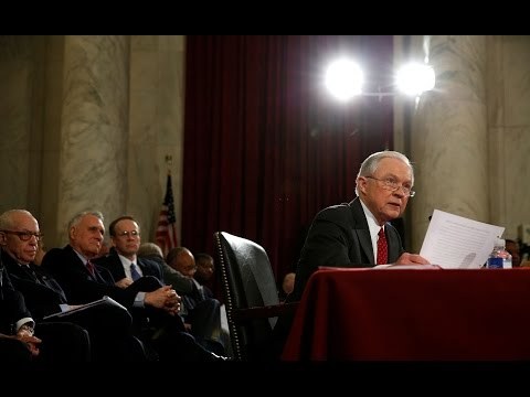 Jeff Sessions confirmation hearing in 5 minutes