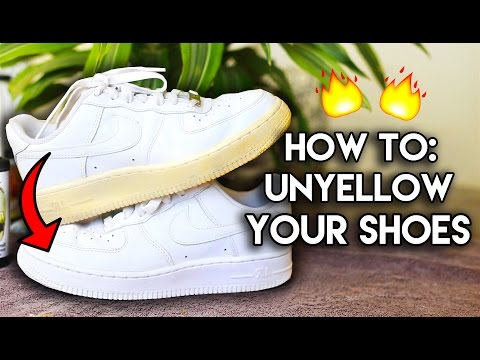 Most Frequently Asked Questions How to Unyellow & Restore Yellowed Shoe Soles