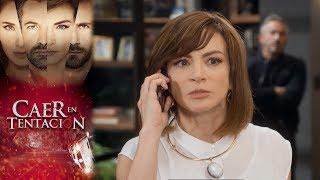 ¡Raquel descubre la mentira de Damián! | Caer en tentación - Televisa