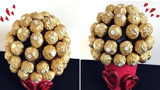 DIY Valentines Day! Ferrero Rocher Bouquet!