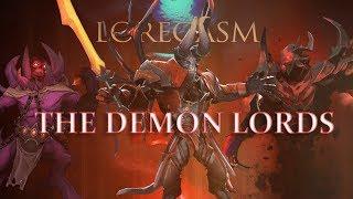 Dota 2 Loregasm: The Demon Lords