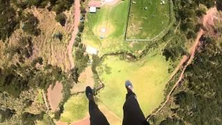 Reverse bungee aka Superman Jump on GoPro