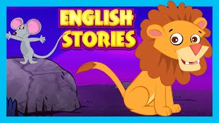 The Goose That Laid Golden Eggs and The Lion & The Mouse -  ENGLISH MORAL STORIES | Bedtimes Stories