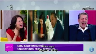 شاهد ردة فعل ممثل تركي يشاهد نفسه يحكي عربي (دوبلاج) 😂!