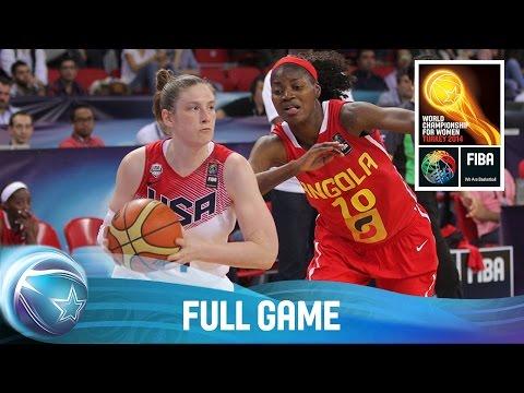 watch USA v Angola - Full Game - Group D - 2014 FIBA World Championship for Women
