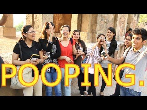 Delhi On Pooping   Street Interview by The Teen Trolls