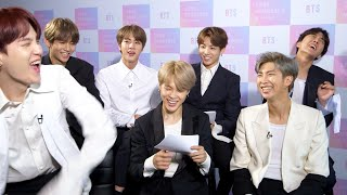 """BTS Take BuzzFeed's """"Which Member Of BTS Are You?"""" Quiz"""