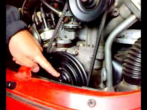 Tonella como graduar a polia do VW a ar 1 1