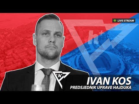 h+ #1 gost: Ivan Kos, predsjednik Uprave Hajduka