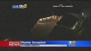 Home Invasion Robbery Reported In La Habra Heights.