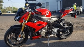 2016 BMW S1000R Review from Argyll Motorsports BMW Demo Day