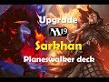 upgrade mazo planeswalker sarkhan mtg m19, deck Tech standard, MTG español