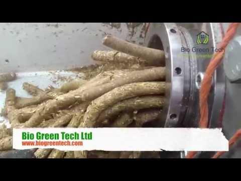 Mobile Biomass Fuel Pellet - Fuel Briquette Plant. Part 1