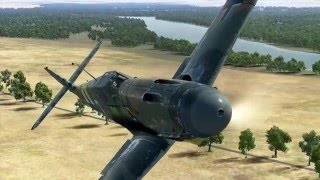 IL-2:Battle of Stalingrad. Bf 109 G-2 quick mission.
