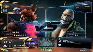 TEKKEN 7 Fr 10/22 Lowhigh(Akuma) vs Dejavu(Bryan) (철권7 Fr 로하이 vs 데자뷰)